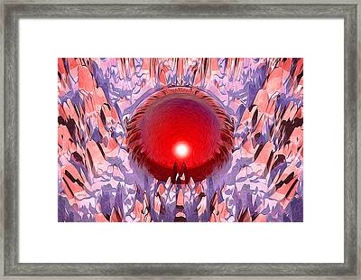 The Red Planet Framed Print by Phil Perkins