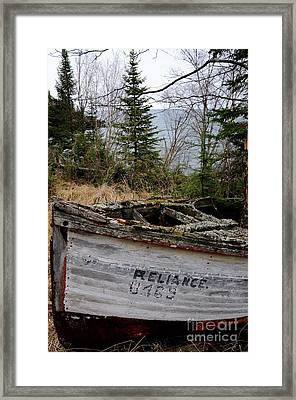 The Reliance #2 Framed Print by Sandra Updyke