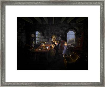 The Remainder Of One - Rework Framed Print by Travis  Ragan