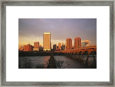 The Richmond, Virginia Skyline Framed Print