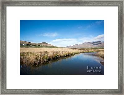 The River Feoghanagh Framed Print by Nichola Denny
