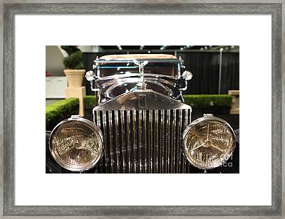 The Rolls Royce Framed Print by Wingsdomain Art and Photography