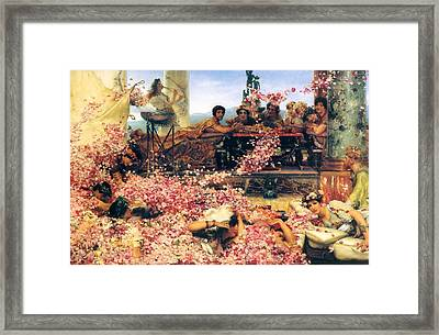 The Roses Of Heliogabalus Framed Print
