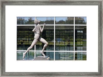 The Runner Framed Print