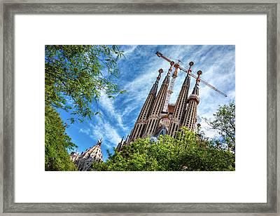 The Sagrada Familia Framed Print