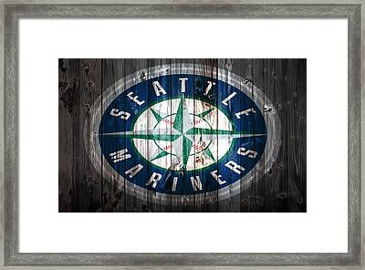 The Seattle Mariners 1a Framed Print by Brian Reaves