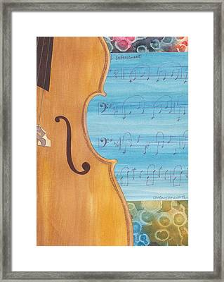 Framed Print featuring the painting The Secret by Casey Rasmussen White