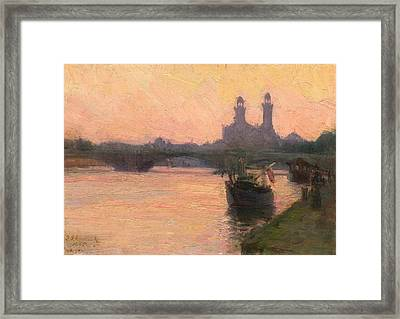 The Seine Framed Print