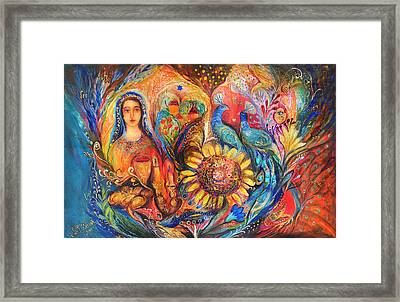 The Shabbat Queen Framed Print by Elena Kotliarker