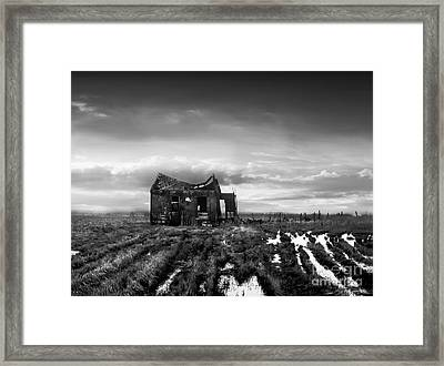 The Shack Framed Print by Dana DiPasquale