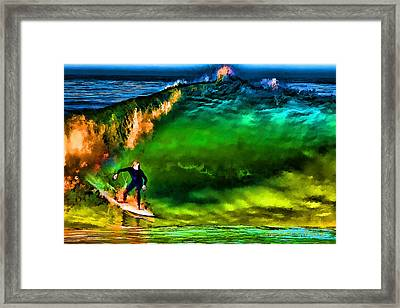 Framed Print featuring the photograph The Shadow Within by John A Rodriguez
