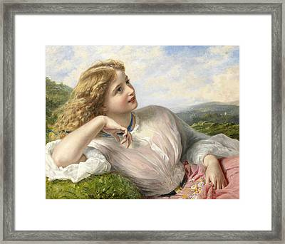 The Song Of The Lark Framed Print
