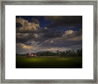 The South Forty Framed Print