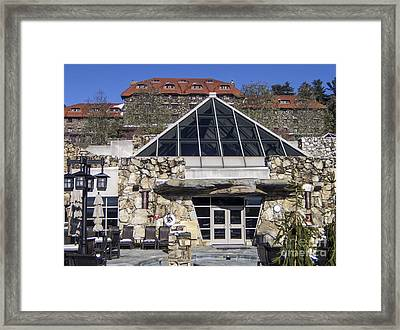 The Spa At The Omni Grove Park Inn Framed Print by David Oppenheimer