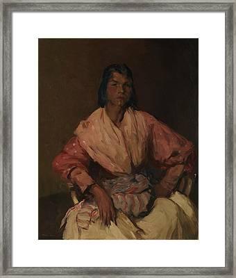 The Spanish Gypsy Framed Print