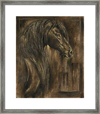 The Spirit Of A Horse Framed Print by Paula Collewijn -  The Art of Horses