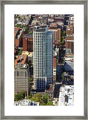 Framed Print featuring the photograph The St James 200 West Washington Square Philadelphia Pa 19106 3513 by Duncan Pearson