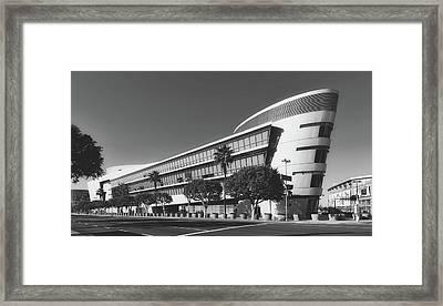 The Staples Center Framed Print