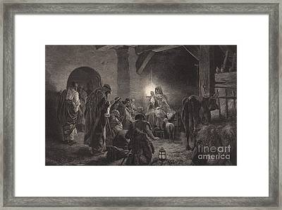 The Star Of Bethlehem Framed Print