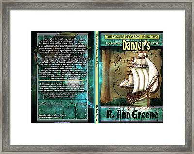 The Stones Of Caron Book Two Following Dangers Path Framed Print by Michelle Rene Goodhew