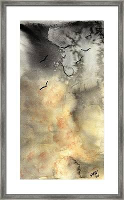 The Storm Framed Print by Joyce Ann Burton-Sousa