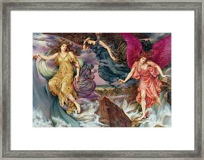The Storm Spirits Framed Print