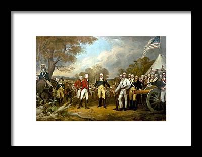 American Revolutionary War Framed Prints