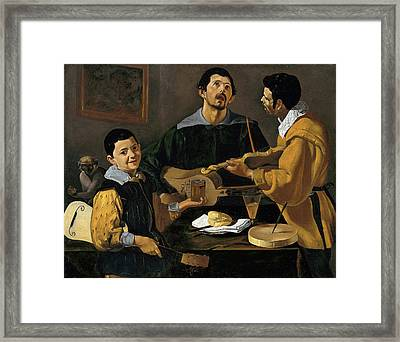 The Three Musicians Framed Print