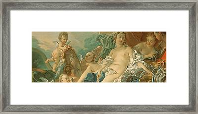 The Toilet Of Venus Framed Print by Francois Boucher