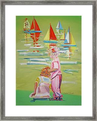 The Toy Regatta Framed Print by Charles Stuart