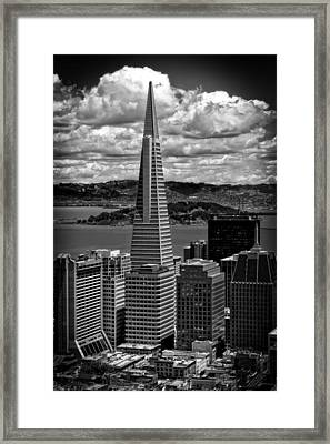 The Transamerica Building Framed Print by Mountain Dreams