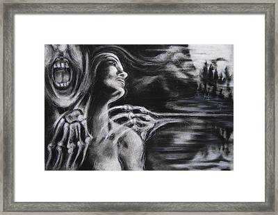 The Turning Point Framed Print by Christine Wagner