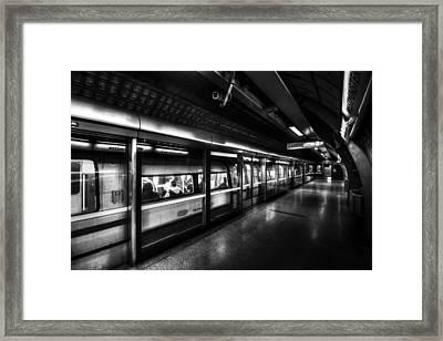 The Underground System Framed Print by David Pyatt