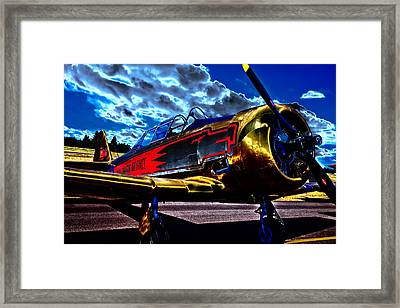 The Vintage North American T-6 Texan Framed Print