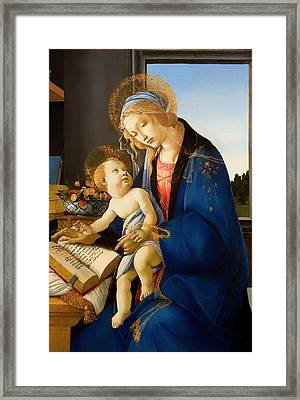 The Virgin And Child Framed Print by Mountain Dreams