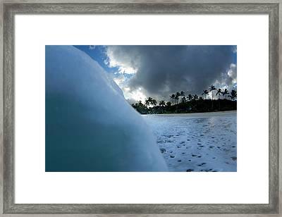 The Wall Framed Print by Sean Davey