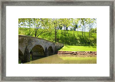 the Washington wall Framed Print by Ruby Hargreaves