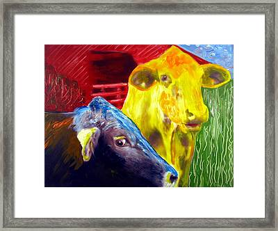 The Watcher Framed Print by Michael Ballew