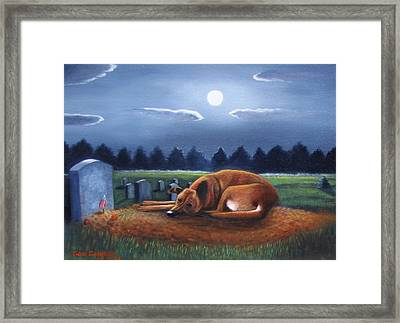 The Watchman Framed Print by Gene Gregory