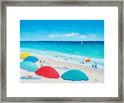 The Weather Is Sweet Framed Print by Jan Matson