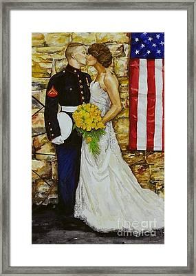 The Wedding Framed Print