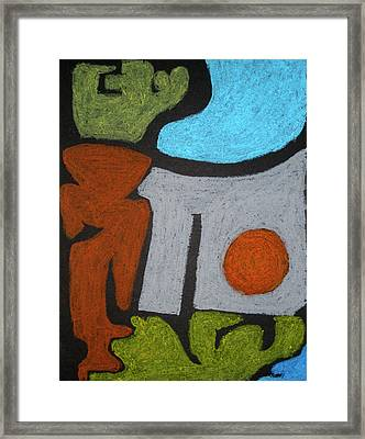 The Weight Of Time Framed Print