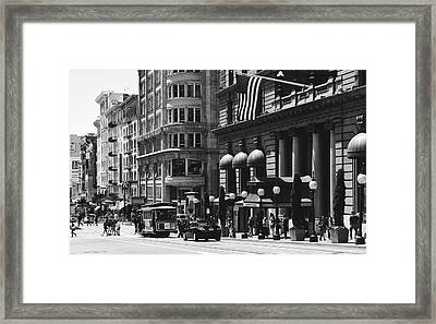The Westin St Francis Hotel Framed Print
