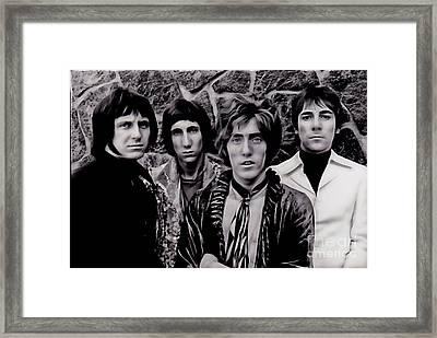 The Who Collection Framed Print