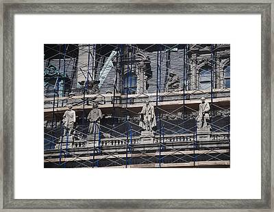 The Wiseguys Framed Print by Rob Hans