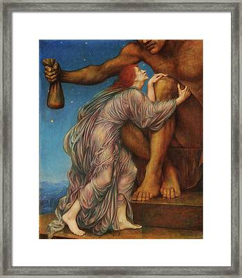 The Worship Of Mammon Framed Print