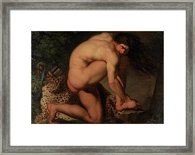 The Wounded Philoctetes Framed Print