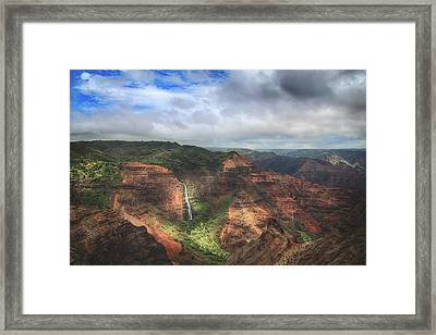 There Are Wonders Framed Print