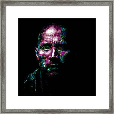 @therock #dwaynejohnson #nfl #disney Framed Print by David Haskett