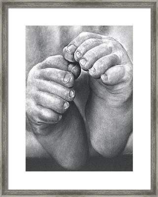 This Little Piggy Framed Print by Curtis James